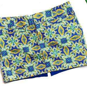 Old Navy Drop Waist Mini Skirt Size 6 Green Blue